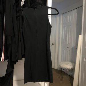 Black leather dress from H&M size 2
